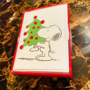 New peanuts holiday cards with envelopes  20 count